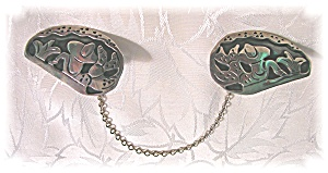 Sweater Clips Sterling Silver Taxco Gonzalo Moreno  (Image1)