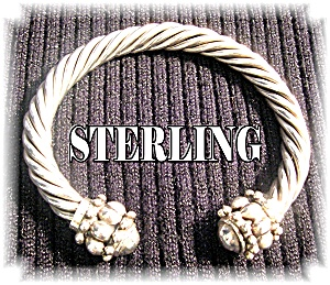 Sterling Silver  Designer Look Cuff (Image1)