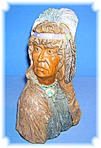 Native American  Warrior Composite Ornament (Image1)