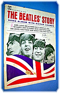 The Beatles' Story Song Album With Guitar Cho
