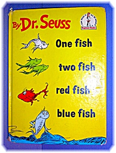 One Fish Two Fish Red Fish Blue Fish By Seuss ...