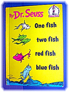 ONE FISH TWO FISH RED FISH BLUE FISH by Seuss (Image1)