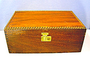 Walnut Wooden Box - Cigar Box ?
