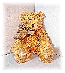 19 IncBOYD Light Tan Pellet Fill Curly  Bear (Image1)