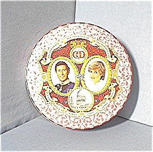 Princess Diana Prince Charles commemorative plate (Image1)