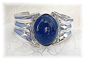 Bracelet Sterling Silver Black Onyx Cuff  HOR MEXICO (Image1)