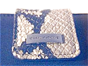 EVAN PICONE, soft leather check wallet (Image1)