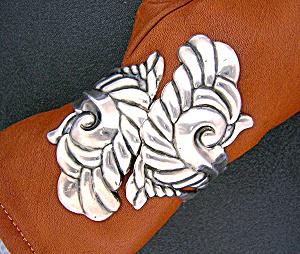 VILLASANA  Eagle 3  Sterling Silver Clamper Bracelet (Image1)