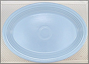 Fiesta Periwinkle 13-5/8-Inch Oval Serving Platter (Image1)