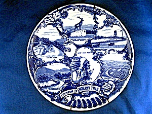 Olde English Staffordshire Ware, Souvenir of Mohawk Tra (Image1)