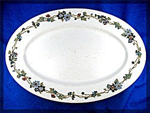 Vintage Maddock�s Trenton China 12 inch  Platter (Image1)