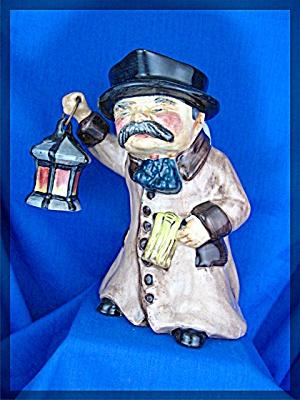 Staffordshire  Dickens Toby Jug Night Watchman (Image1)