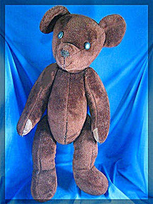 Vintage Large Brown Teddy Bear - 23 inches (Image1)