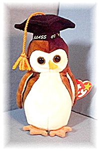 1998 'Wise' Owl Beanie Baby (Image1)