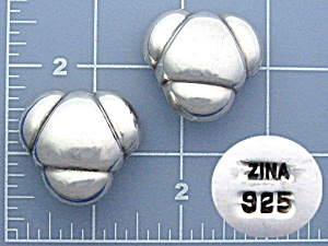 Sterling Silver Cip Earrings ZINA (Image1)