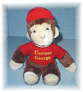 11 Inch Curious George Monkey (Image1)