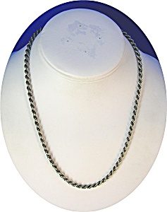 Necklace Sterling Silver Hallmarks English 18 Inch (Image1)