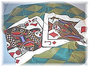 Ace King Queen Jack 10 BOB MACKIE Scarf (Image1)