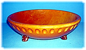 Wood MUNSING Collectible Salad Bowl (Image1)