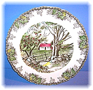 Johnson Bros England The Friendly Village Plate