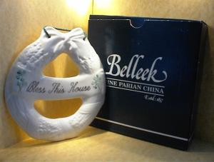 Belleek Porcelain Bless This House  (Image1)