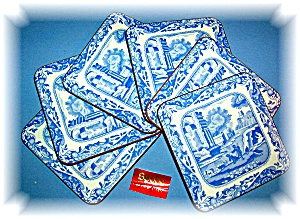 Made in England 6 Spode Cork Back Coasters (Image1)