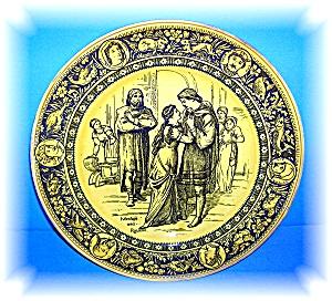 Beautiful Collectible Wedgewood Ivanhoe & Rowena Plate (Image1)