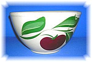 Watt  Apple Oven Ware Parkston Creamery Bowl (Image1)