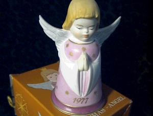 Christmas Angel Bell West Germany 1977