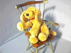GUND Light Tan Floppy Puppy Dog. (Image1)