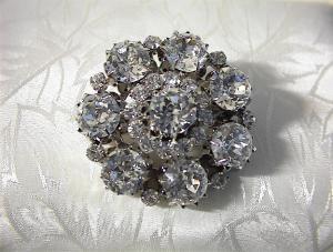 Brooch  AUSTRIAN Crystals (Image1)