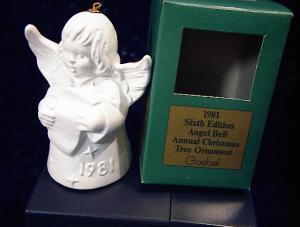 Goebel  Angel Holding Sheet Music 1981 (Image1)