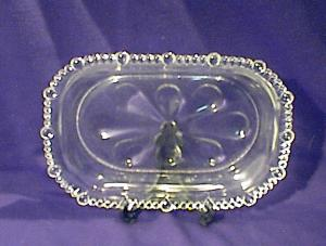 Old Glass Relish Dish.