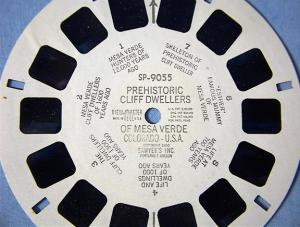 View Master Reel Of Mesa Verde Colorado. (Image1)