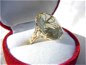 Ring 14k Gold Golden Citrine