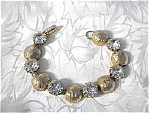 KRAMER Crystals & Gold Bracelet (Image1)