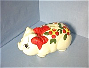 Piggy Bank Large American Bisque USA (Image1)