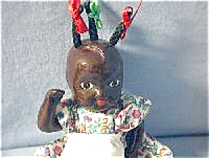 Antique Superb China Black Doll. (Image1)
