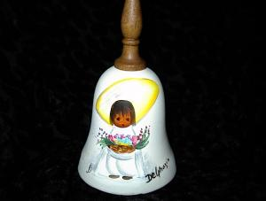 Degrazia Signed Bell. (Image1)