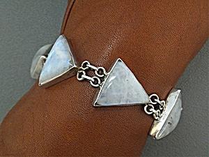 Bracelet Sterling Silver Moonstone  (Image1)