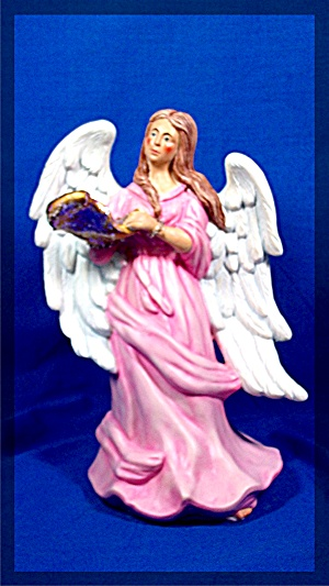 Angel, hand painted Ceramic (Image1)