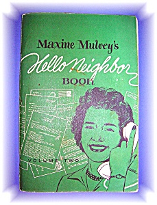 1961 Maxine Mulveys Hello Neighbor Denver Colorado (Image1)