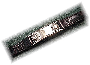 1996 Brighton Leather  Band Bracelet (Image1)