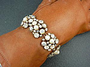 Austrian Crystals Pearls BLING Bracelet (Image1)