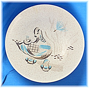 Dinner Plate in the Bob White pattern by Red Wing China (Image1)