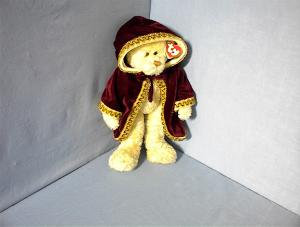 13 Inch Let It Snow White TY Bear (Image1)