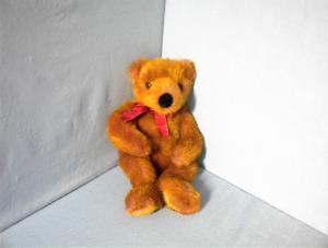 20 Inch Dark Pink Russ Berrie Teddy (Image1)