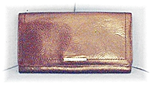 Tobacco Brown FOSSIL Checkbook Wallet (Image1)