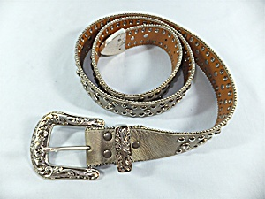 Belt NOCONA leather and rhinestone (Image1)