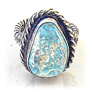 Silver and Turquoise ring (Image1)